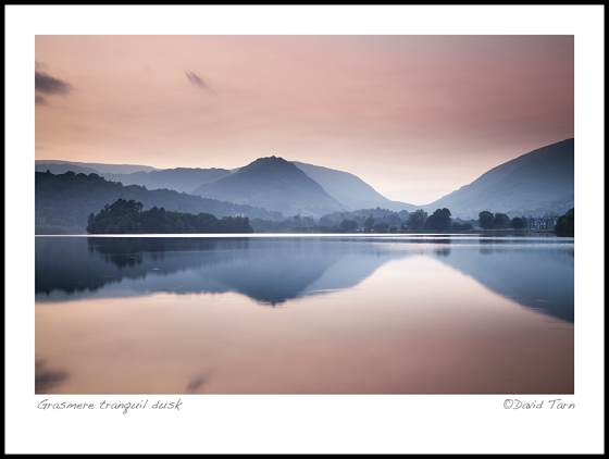 Grasmere tranquil dusk Ws  4461