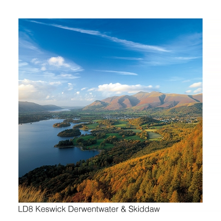 LD8 Keswick Derwentwater Skiddaw web