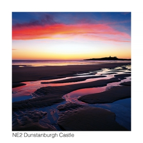 NE2 Dunstanburgh Castle dawn web