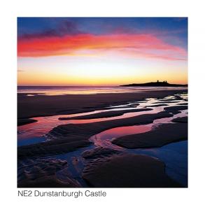 NE2 Dunstanburgh Castle dawn web