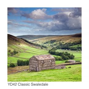 YD42 Barn Swaledale near Thwaite GCs web
