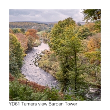 YD61 Turners view Barden Tower GCs web